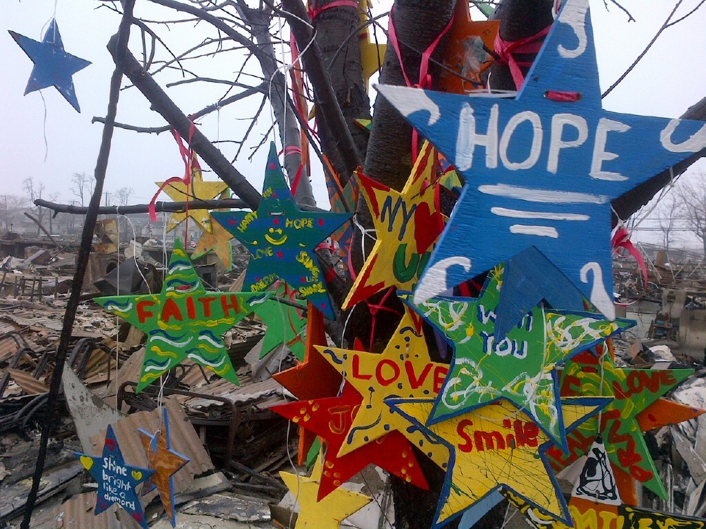 hurricane sandy, queens, stars of hope