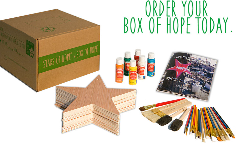 Order your box of hope today.