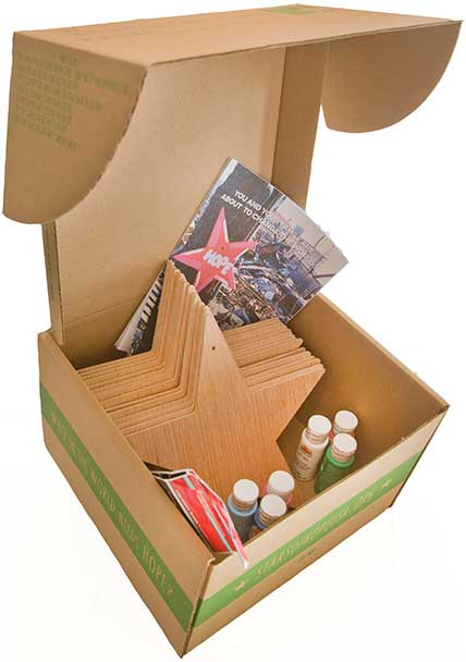 Stars of HOPE Box of Hope package