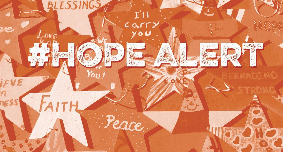 #HopeAlert