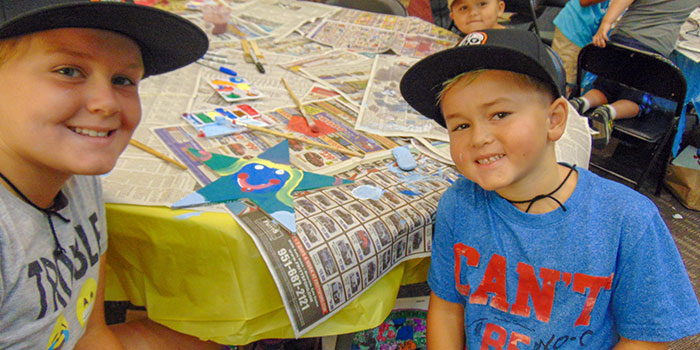 Critter Campers create hope with Stars of HOPE