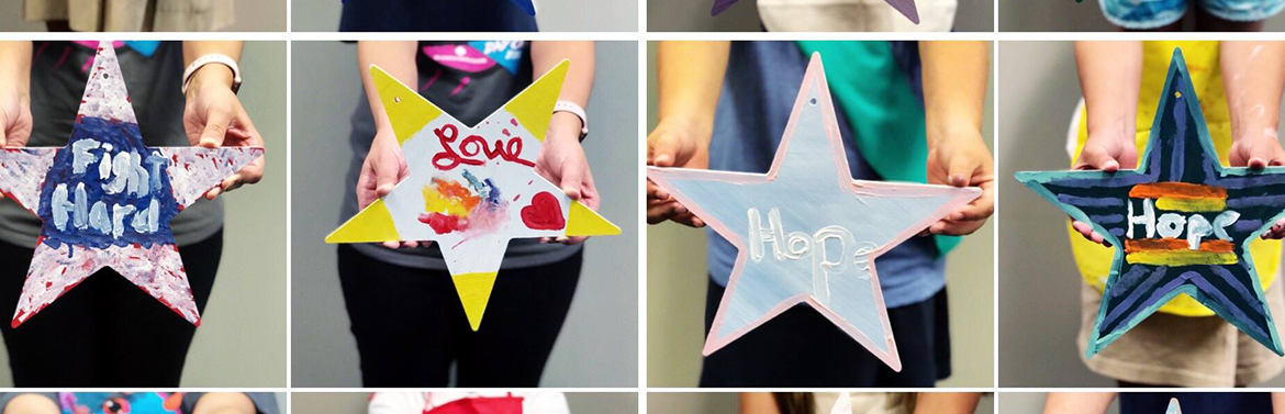 Tulsa Girl Scouts Paint Stars of HOPE for Teacher Battling Breast Cancer