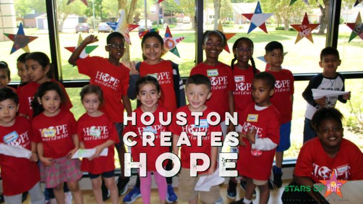 SPARK Creates Stars of HOPE® For Opening Ceremony In Houston, Texas
