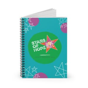 Stars of HOPE Spiral Notebook – Ruled Line