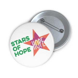 Stars of HOPE Pin Buttons