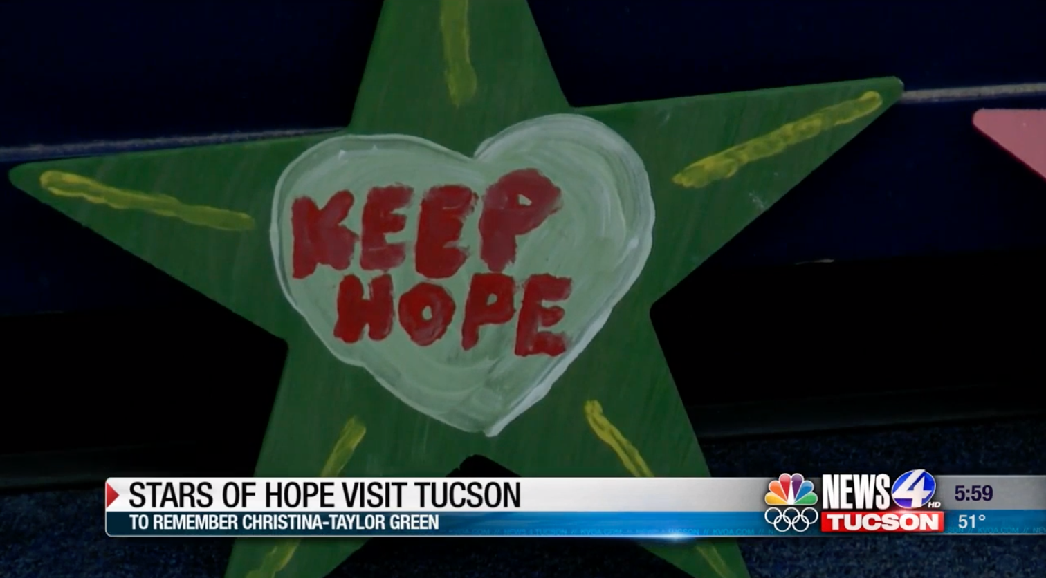 Stars of Hope' return to Tucson to honor victims of January 8 shooting