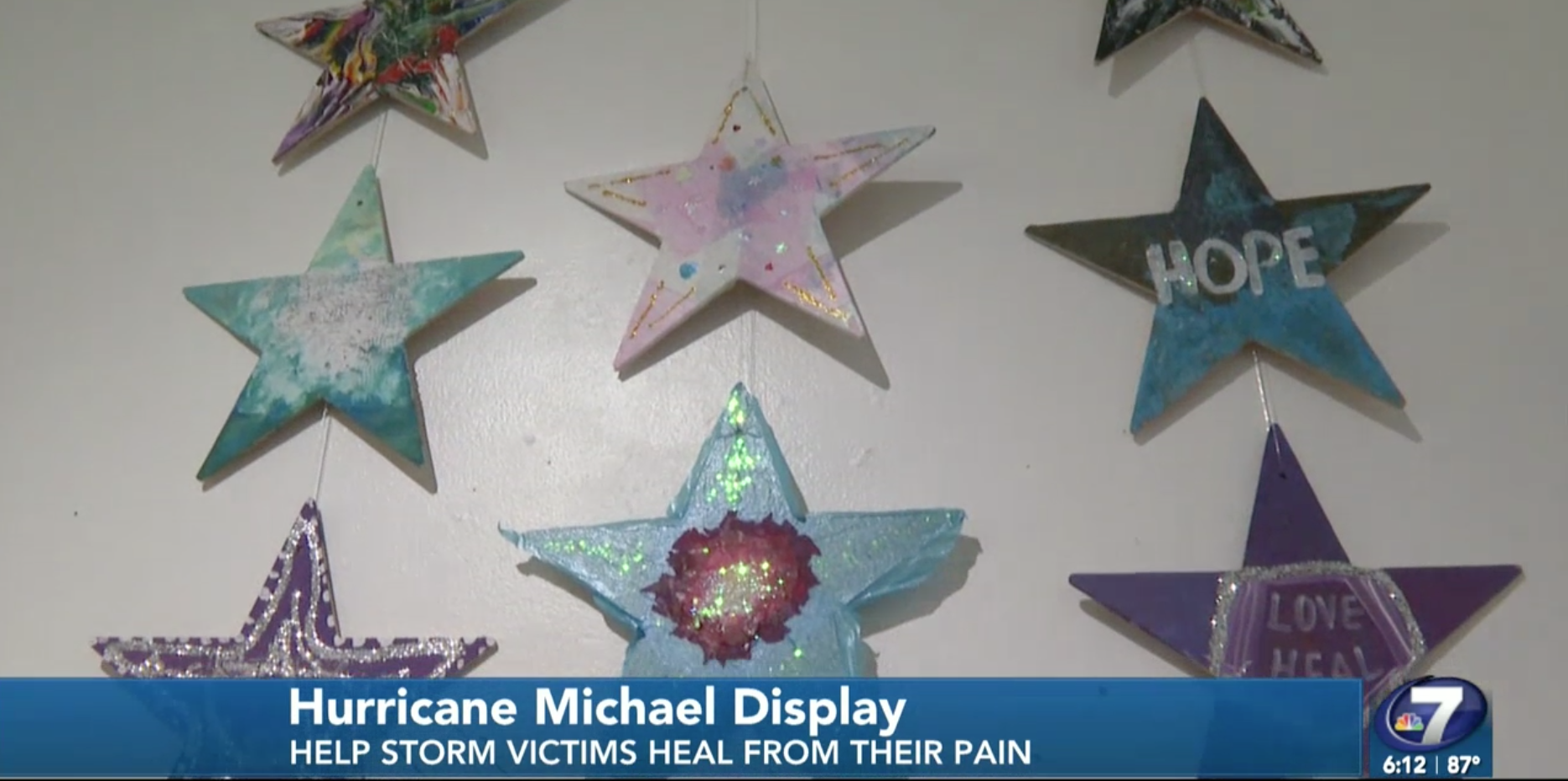 Hurricane Michael inspired artwork on display at Panama City Center for the Arts