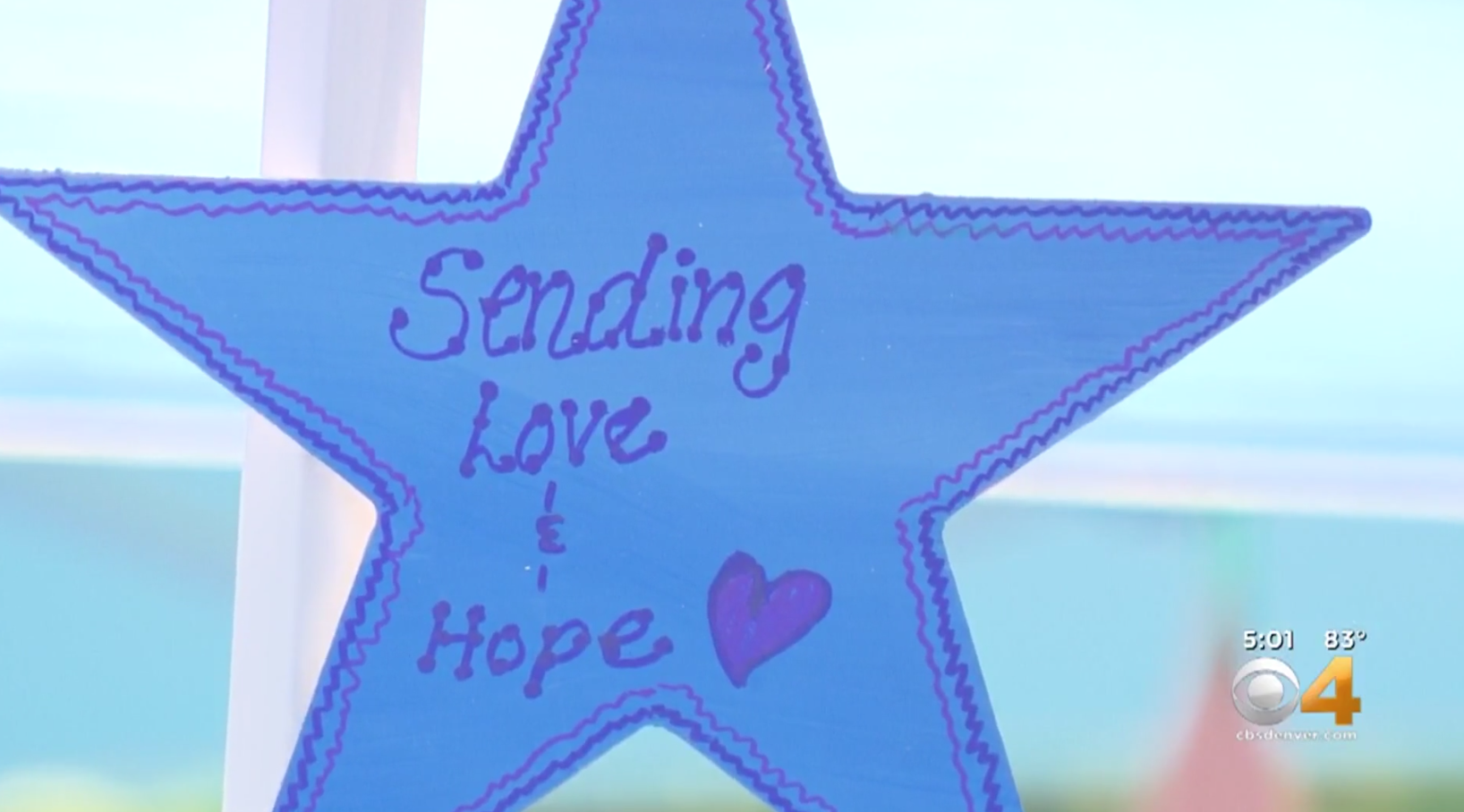 Community Paints Stars Of Hope For STEM School Students Ahead Of New School Year