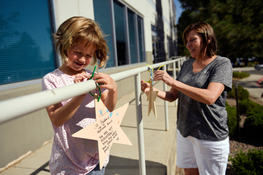 """""""Stars of Hope,"""" increased security greet STEM School students as classes resume 3 months after…"""
