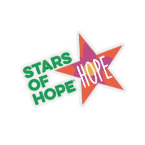Stars of HOPE Stickers